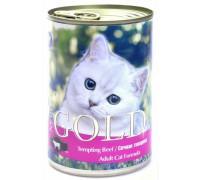 """NERO GOLD Консервы для кошек """"Сочная говядина"""" (Tempting Beef). Вес: 410 г"""