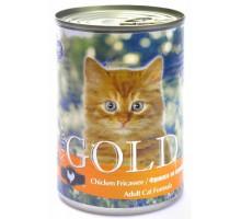 """NERO GOLD Консервы для кошек """"Фрикасе из курицы"""" (Chicken Fricassee). Вес: 415 г"""