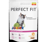 Perfect Fit Junior Перфект Фит сухой корм для котят с курицей. Вес: 190 г