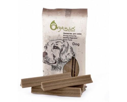 "Organix Лакомства для собак Зубные палочки ""Дентал Стик"" мини (Dental Sticks Small). Вес: 100 г"