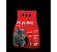 Pi-Pi-Bent Классик натуральный комкующийся наполнитель 3 кг