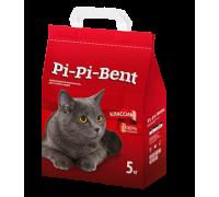 Pi-Pi-Bent Классик натуральный комкующийся наполнитель 5 кг