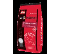 ProBalance Adult Grain Free сухой беззерновой корм премиум класса для взрослых собак всех пород. Вес: 10 кг