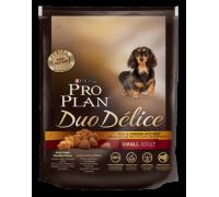 Pro Plan Duo Delice Small & Mini Курица с рисом для взрослых собак мелких и карликовых пород (Про План). Вес: 700 г