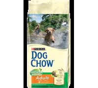 PURINA DOG CHOW Дог Чау Корм для взрослых собак с курицей. Вес: 800 г