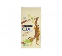 PURINA CAT CHOW сухой корм для взрослых кошек Утка (Кэт Чау). Вес: 400 г