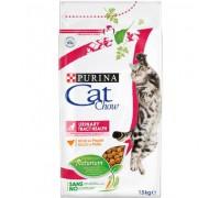 PURINA CAT CHOW сухой корм для кошек при мочекаменной болезни (Кэт Чау). Вес: 400 г