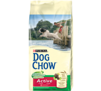 PURINA DOG CHOW Дог Чау Корм для взрослых активных собак с курицей. Вес: 2,5 кг