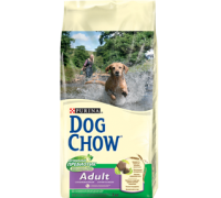 PURINA DOG CHOW Дог Чау Корм для взрослых собак с ягненком и рисом. Вес: 800 г