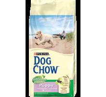 PURINA DOG CHOW Дог Чау Корм для щенков с ягненком и рисом. Вес: 800 г