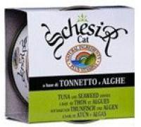 Schesir консервы для котят Тунец/алое. Вес: 85 г