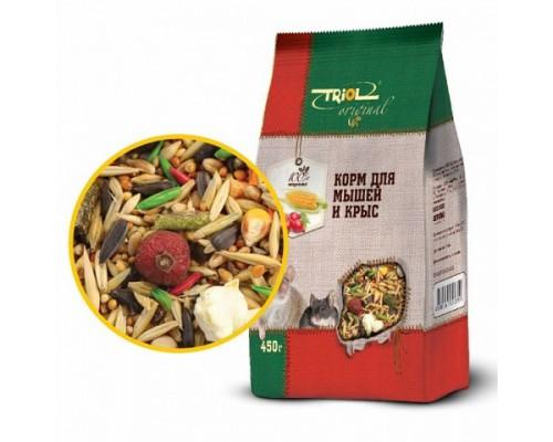 TRIOL Original Корм для мышей и крыс (Триол). Вес: 450 г