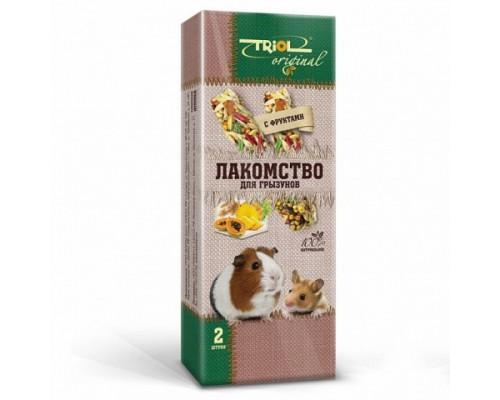 TRIOL Original Лакомство для грызунов с фруктами (Триол): 2 шт