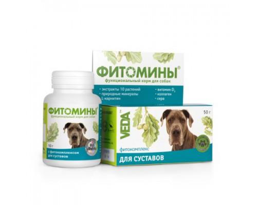VEDA Фитомины с фитокомплексом для суставов для собак: 100 таб