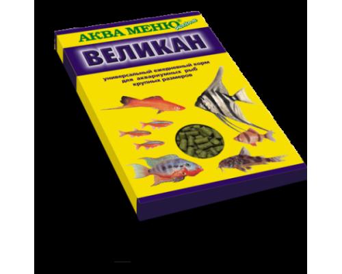 """Аква Меню """"Великан"""" корм для рыб. Вес: 35 г"""