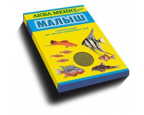 """Аква Меню """"Малыш"""" корм для рыб. Вес: 15 г"""