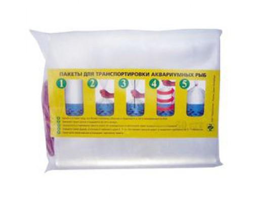 Аква Меню Пакет полиэтиленовый для транспортировки рыб 240 мм