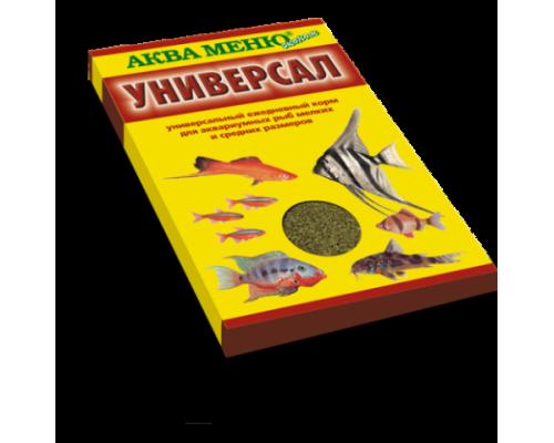 """Аква Меню """"Универсал"""" корм для рыб. Вес: 30 г"""