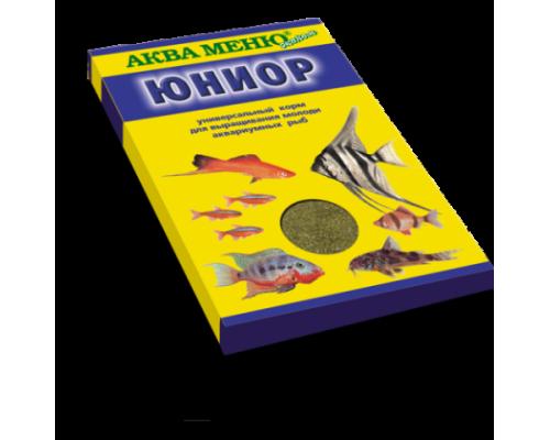 "Аква Меню ""Юниор"" корм для рыб. Вес: 20 г"