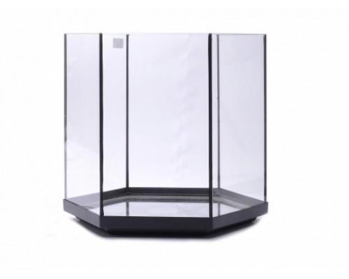 Аквариум шестиугольный, 35х35х35 см (Glass fish tank hexa 2)
