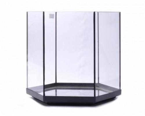 Аквариум шестиугольный, 38х41х41 см (Glass fish tank hexa 3)