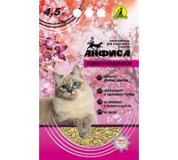АНФИСА Комкующийся гигиенический наполнитель для кошачьего туалета 4,5 л