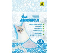 АНФИСА Силикагелевый гипоаллергенный наполнитель для кошачьего туалета
