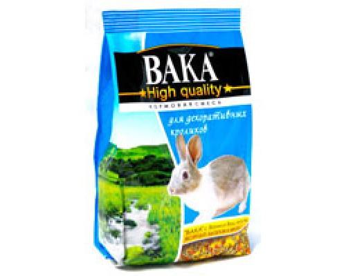 Вака High Quality Корм для декоративных кроликов. Вес: 500 г