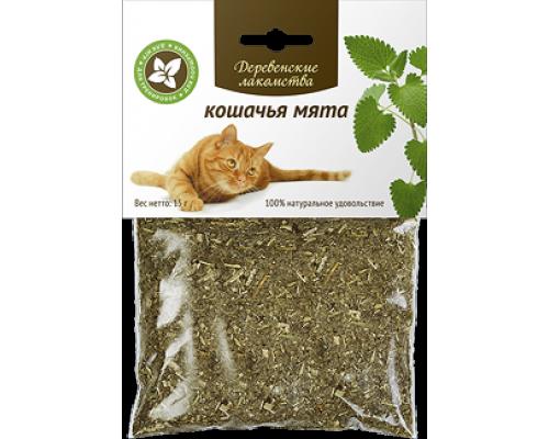 Деревенские лакомства для кошек Кошачья мята. Вес: 15 г
