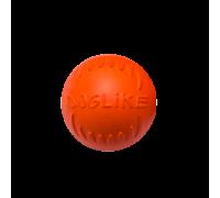 ДОГЛАЙК Мяч малый для собак всех пород (оранжевый)
