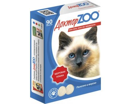 Доктор ZOO витамины для кошек с морскими водорослями Здоровый иммунитет 90 таб
