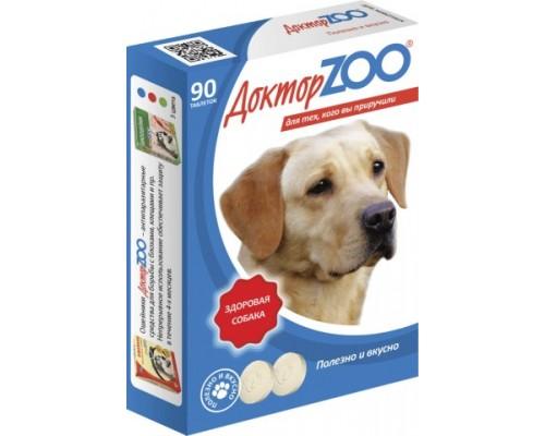 Доктор ZOO витамины для собак с морскими водорослями Здоровая собака 90 таб