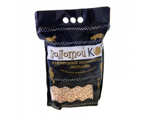 Золотой кот Кукурузный наполнитель 4 л