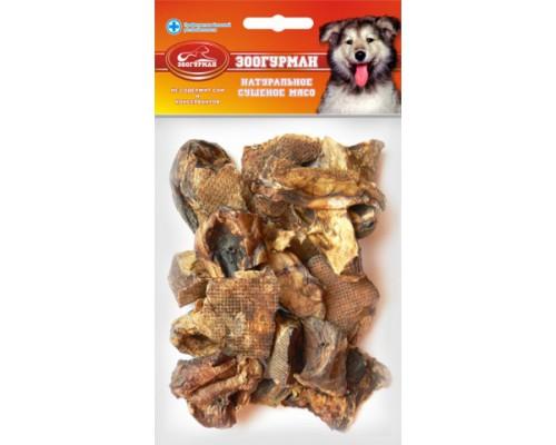 ЗООГУРМАН Лакомство для собак Лёгкое говяжье большое. Вес: 45 г