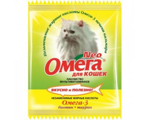 Омега Neo для кошек Биотин/Таурин 15 таб саше (Витаминно-минеральный комплекс)