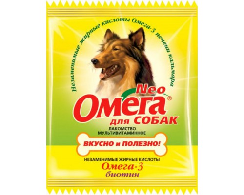 Омега Neo для собак Биотин 15 таб саше (Витаминно-минеральный комплекс)