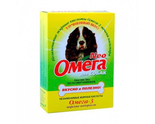 Омега Neo для собак с Морскими водорослями 90 таб (Витаминно-минеральный комплекс)