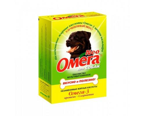 Омега Neo для собак с Протеином и L-карнитином 90 таб (Витаминно-минеральный комплекс)