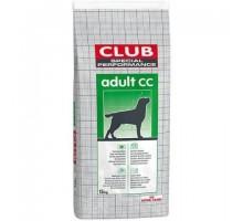 ROYAL CANIN CLUB Adult CC Полнорационный корм для взрослых собак с нормальной физической активностью и служебных собак (Клуб Эдалт ЦЦ ПРО). Вес: 20 кг