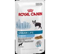 ROYAL CANIN URBAN LIFE Junior Wet влажный корм для щенков (вес взрослой собаки менее 44 кг) в возрасте до 10/15 месяцев УРБАН лайф Юниор соус. Вес: 150 г