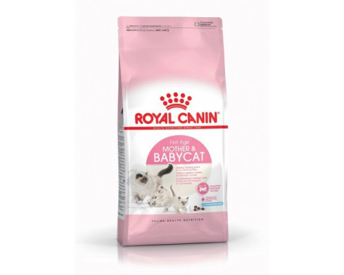 ROYAL CANIN MOTHER AND BABYCAT (МАЗЕР ЭНД БЕБИКЭТ) для котят в возрасте с 1 до 4 месяцев, а также беременных и лактирующих кошек. Вес: 400 г