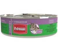 Четвероногий Гурман консервы для собак Паштет Говядина. Вес: 240 г