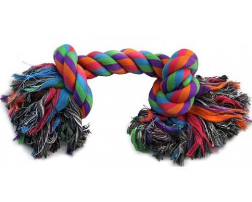 """TRIOL Игрушка для собак """"Веревка, 2 узла"""", 280мм (Триол)"""