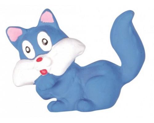 """DEZZIE Игрушка для собак """"Кошка"""" 6см латекс"""