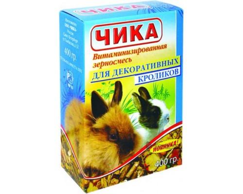 Чика Корм для кроликов. Вес: 400 г