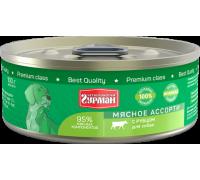 Четвероногий Гурман консервы для собак Мясное ассорти с Рубцом. Вес: 100 г