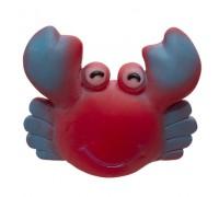"""Yami-Yami Игрушка для собак """"Краб"""", красный, 9х11 см"""