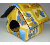 USOND Дом для кошек мягкий (китай крыша) 35х35х39