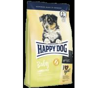 Happy Dog Baby Lamb / Rice для щенков средних и крупных пород с 4 недель до 6 месяцев с чувствительным пищеварением. Вес: 1 кг