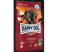Happy Dog Africa для взрослых собак при пищевой аллергии. Страус/Картофель. Вес 1 кг